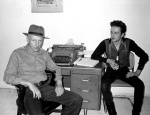 william burroughs and joe strummer